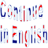 Continue  in English